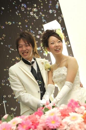 アットホームで暖かい結婚式を叶えました!!