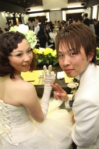 おいしい料理と楽しい演出!!大満足の結婚式になりました!
