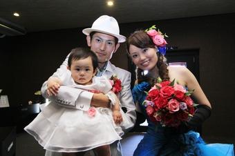 自分達らしい結婚式で皆様に感謝の気持ちを伝えました!!