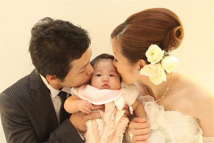 愛娘と3人で形式にとらわれない私達らしい結婚式に!!