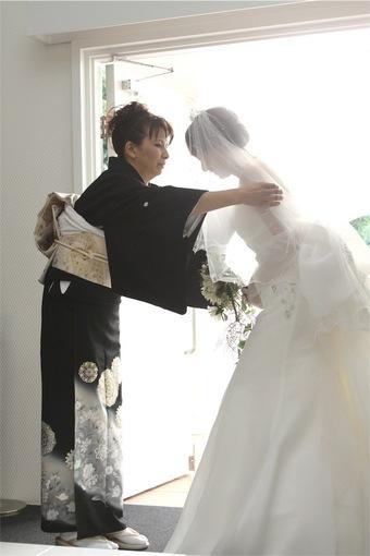 大切な息子と3人で楽しい結婚式になりました♡