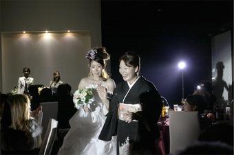 愛娘と一緒に家族3人で楽しめた結婚式になりました!!