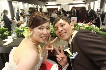 ゲストの皆さんに喜んで頂ける結婚式になりました!