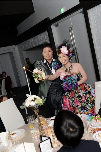 ゲストの満足度の高い結婚式になりました!