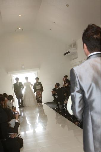 ゲストとの時間を大切にした温かい結婚式になりました!