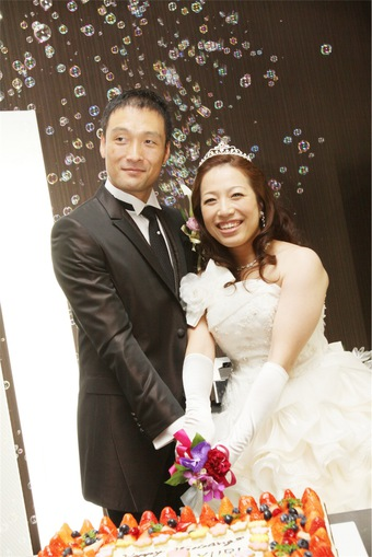 自分達らしい、思い出の結婚式になりました♡