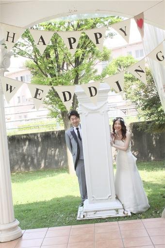 笑顔あふれるHAPPY  WEDDING♡