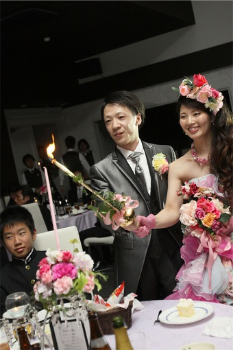 たくさんの笑顔に囲まれ心に残る結婚式に♡