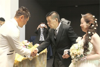 サプライズがいっぱい♡とても楽しい結婚式になりました!