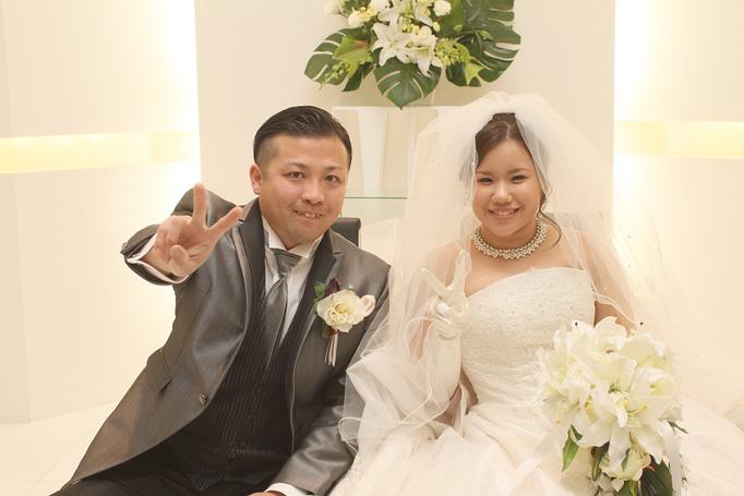 笑顔あふれた「俺たちの結婚式♡」