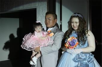 「笑顔」いっぱい!親子の絆・家族の絆を大切にした家婚式に♡