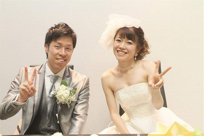 笑顔いっぱいの私達らしい       アットホームwedding♡♡