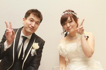 ゲストの皆さんに喜んでもらえる結婚式になりました
